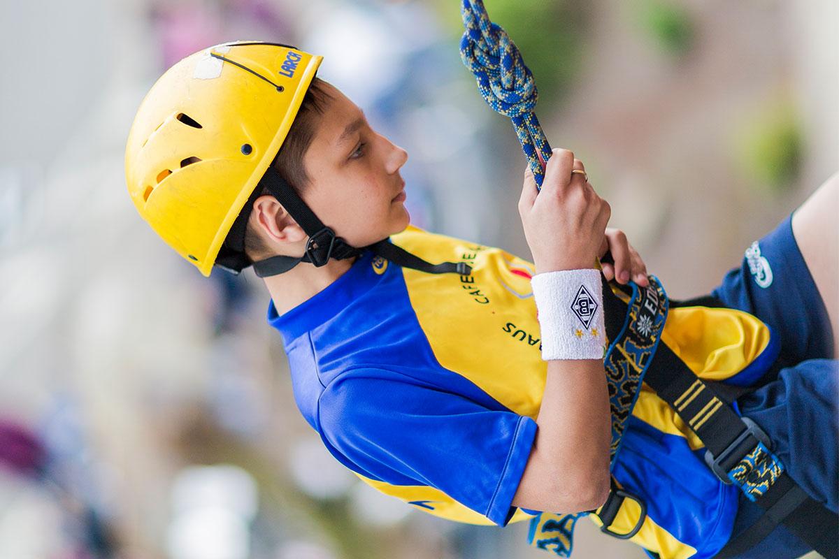 Klettern als erlebnispädagogisches Angebot