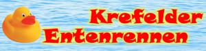 Das Logo Krefelder Entenrennen