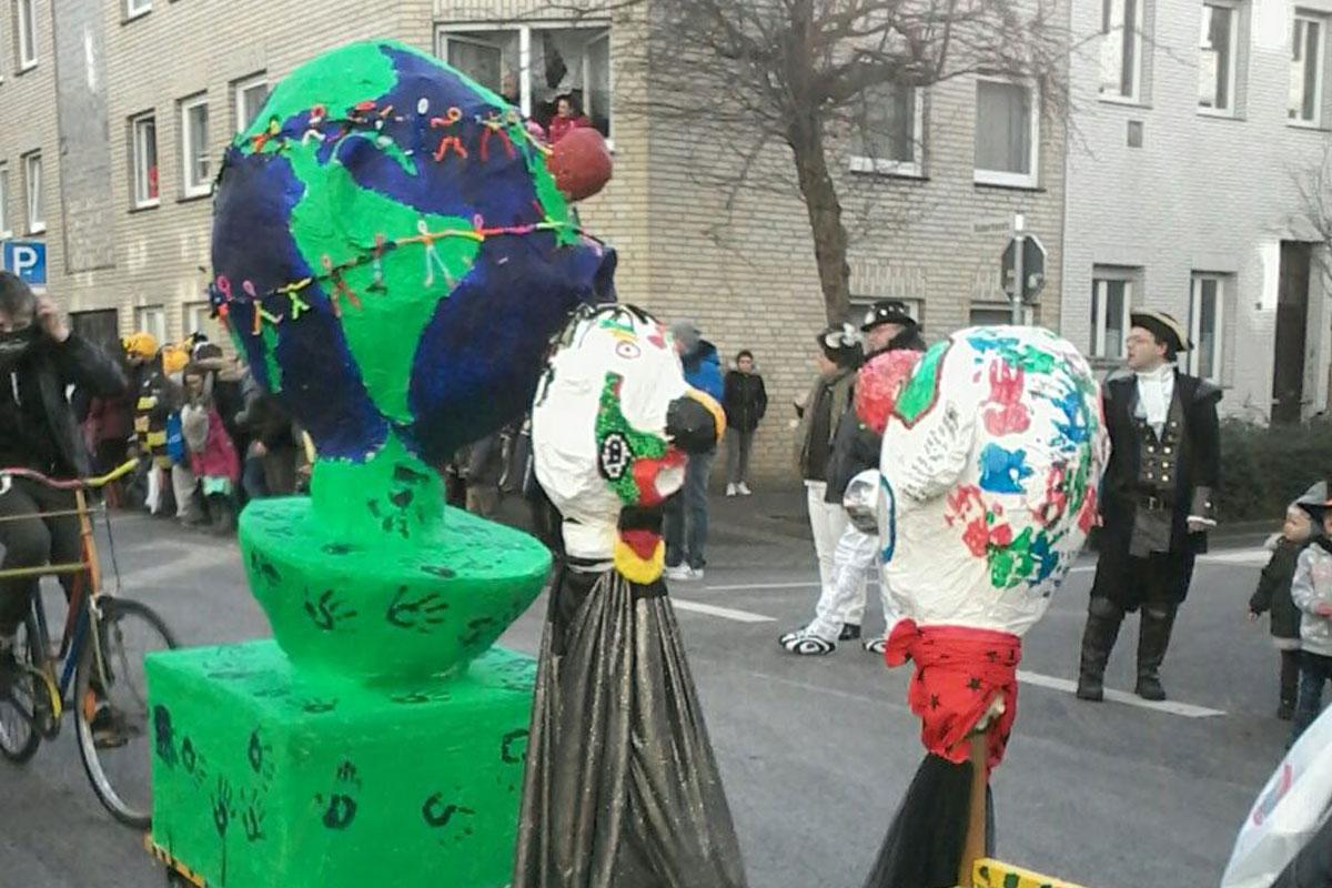 Das Kulturgut Karneval näher bringen