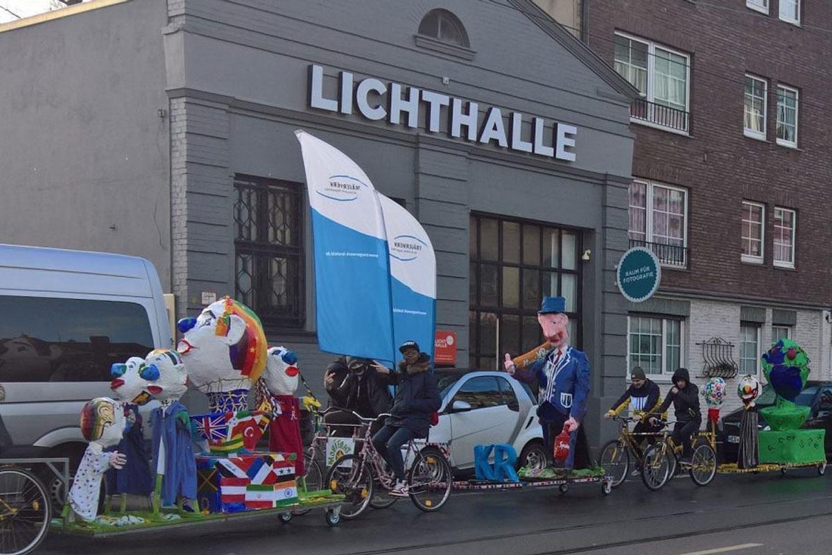Teilnahme am Karnevalszug